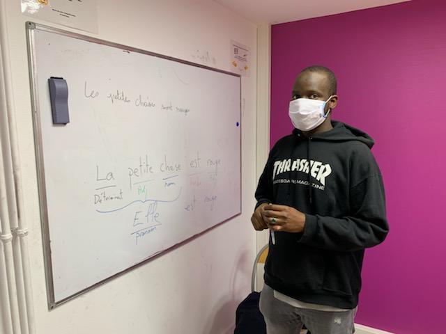 Les apprenants sont invités à porter un masque